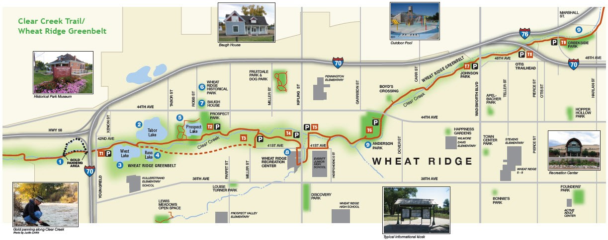 New 2015 Clear Creek Trail Map