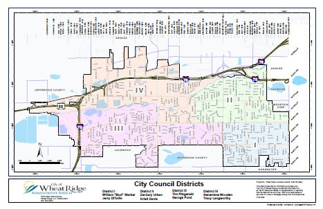 Maps | Wheat Ridge, CO   Official Website