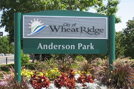 Anderson Park Sign