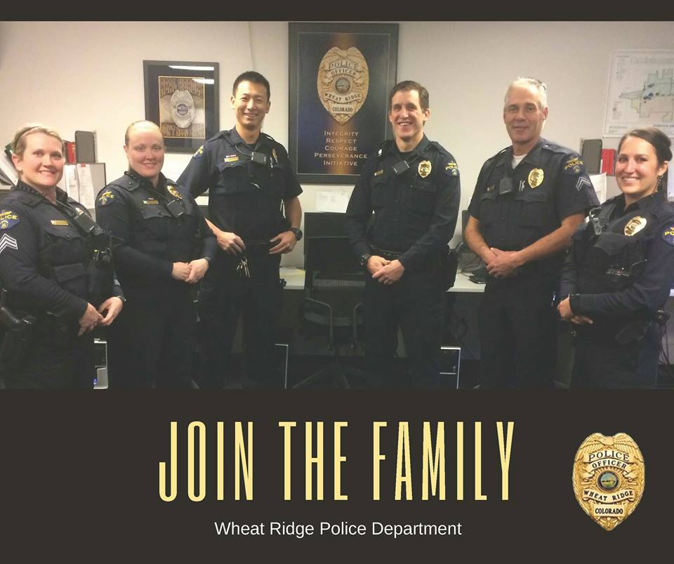 Join the Family - police recruitment photo