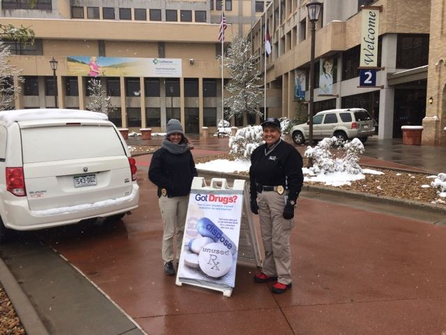 Team Drug Take back at Lutheran Medical Center