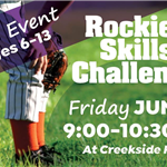 Rockies Skills Challenge Friday June 8 at Creekside Park