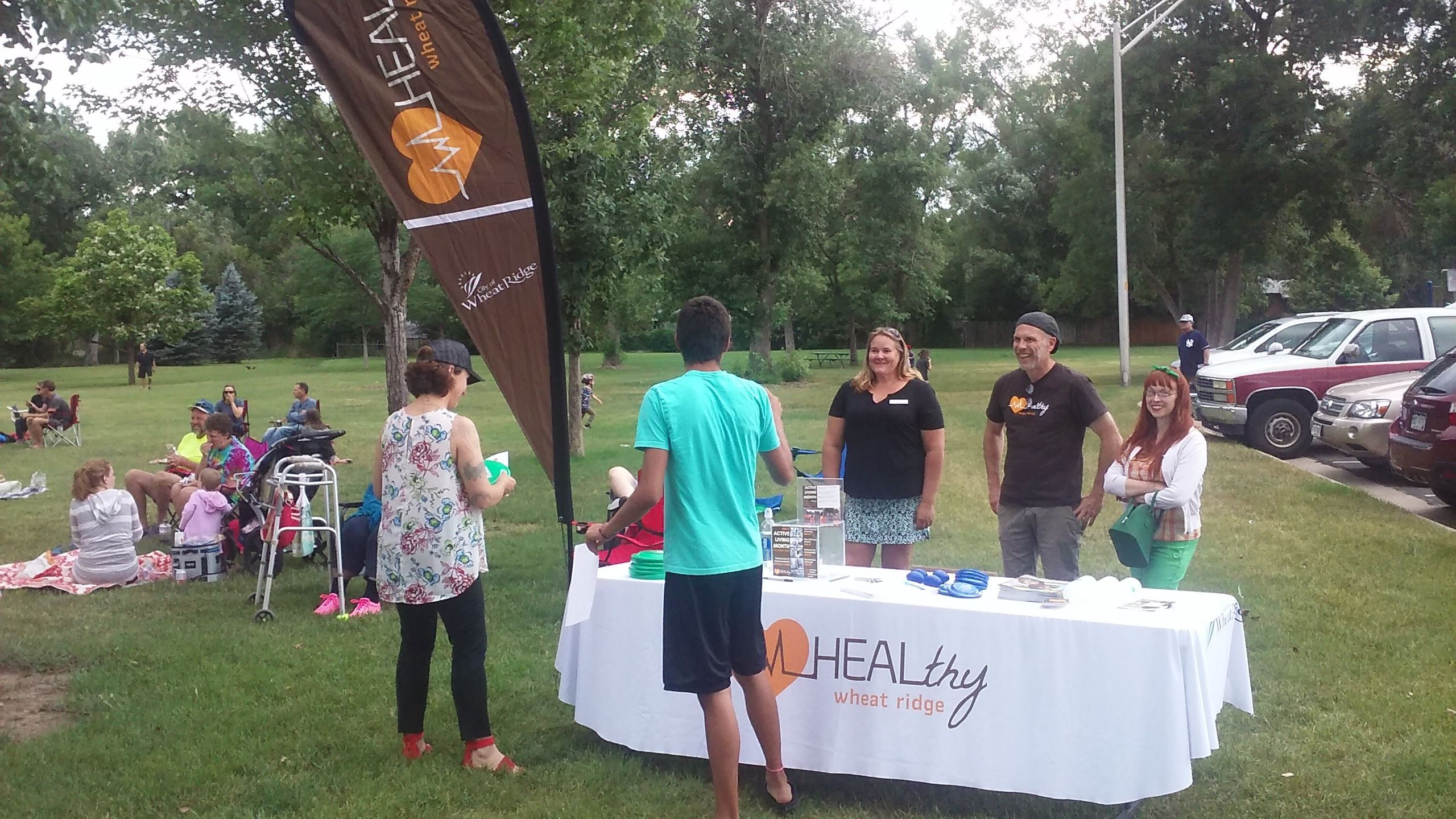 HEAL booth at PIP