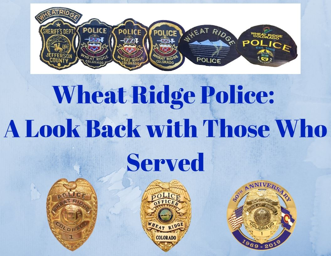 Wheat Ridge Police Badges and Patches