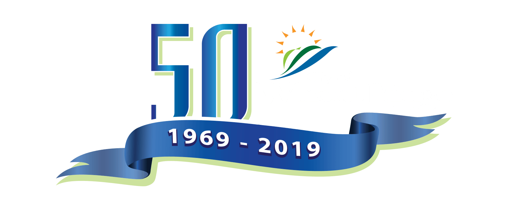 Wheat Ridge, CO 50th Anniversary Logo