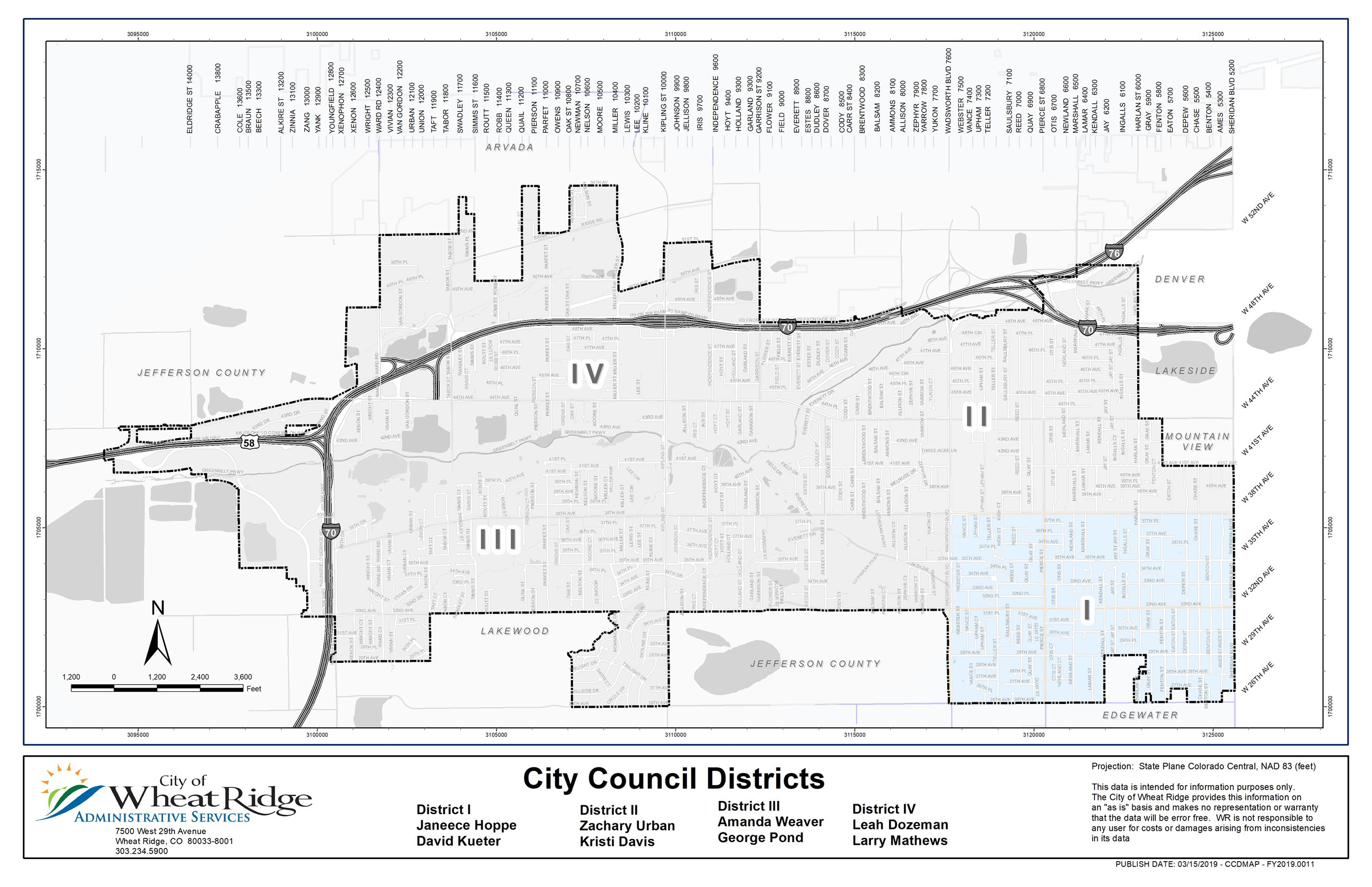 Wheat Ridge District 1