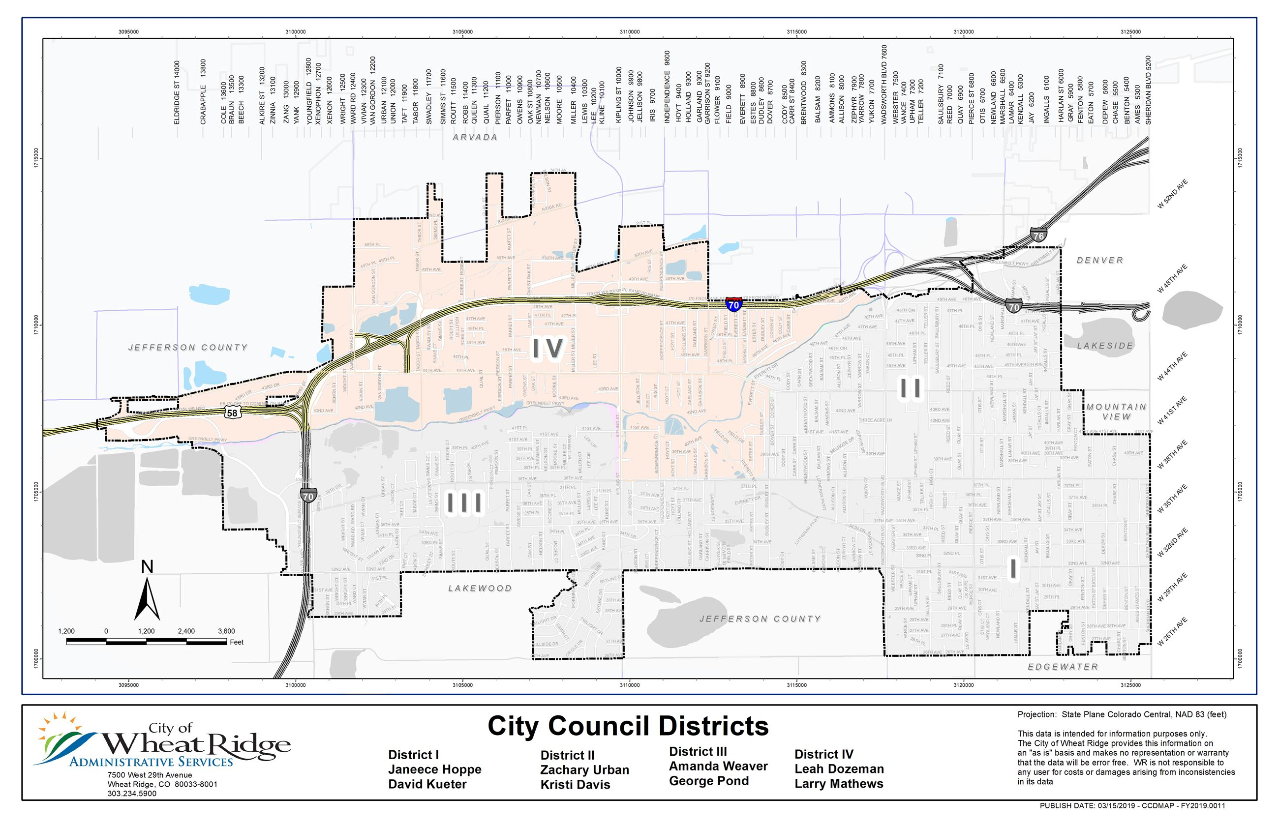 Wheat Ridge District IV
