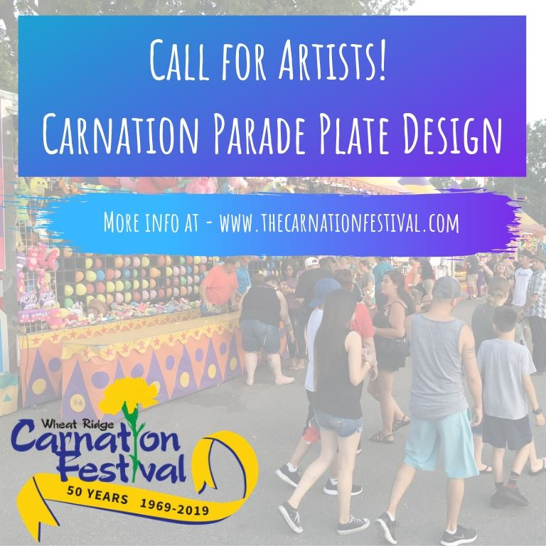 Call for Artists! Carnation Parade Plate Design(1)