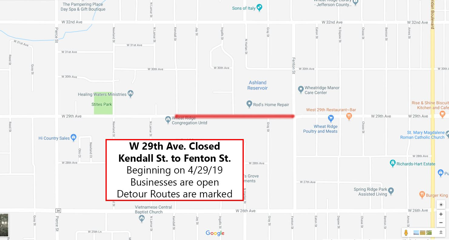 29th ave closure