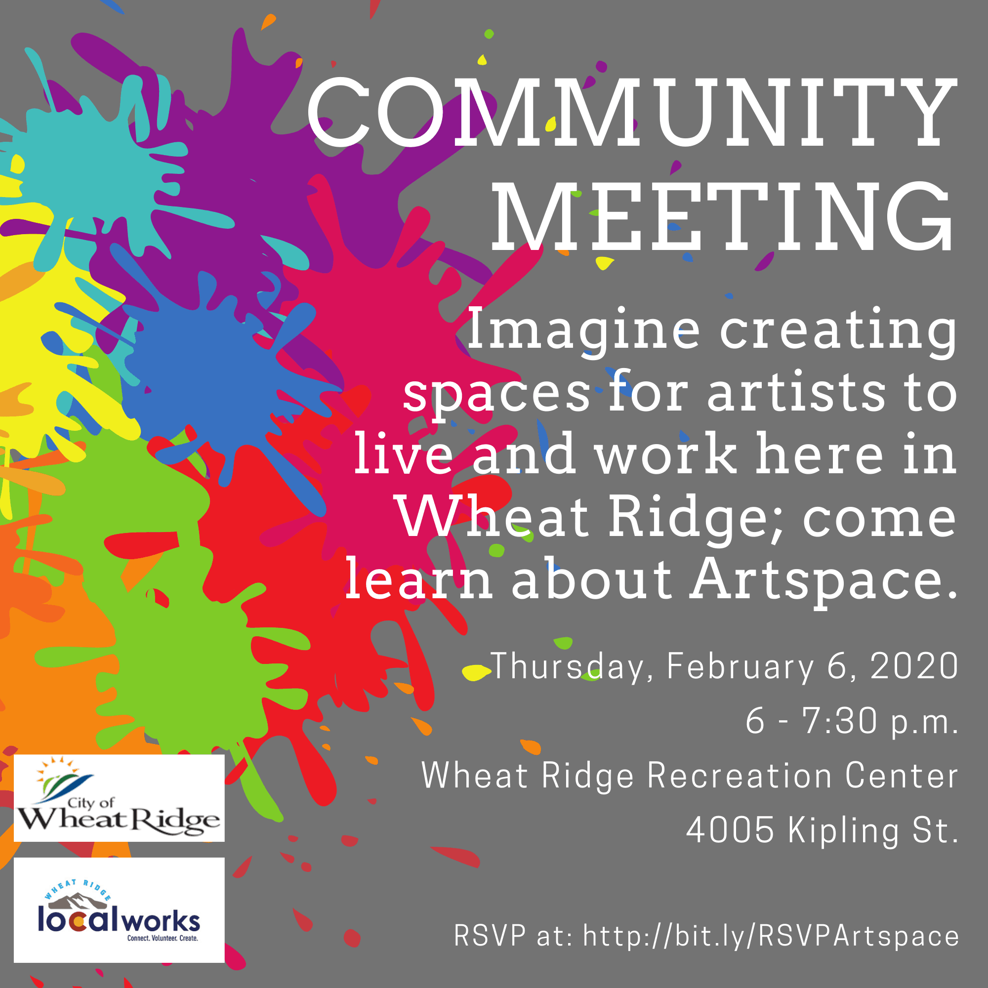 Community Meeting Artspace Information