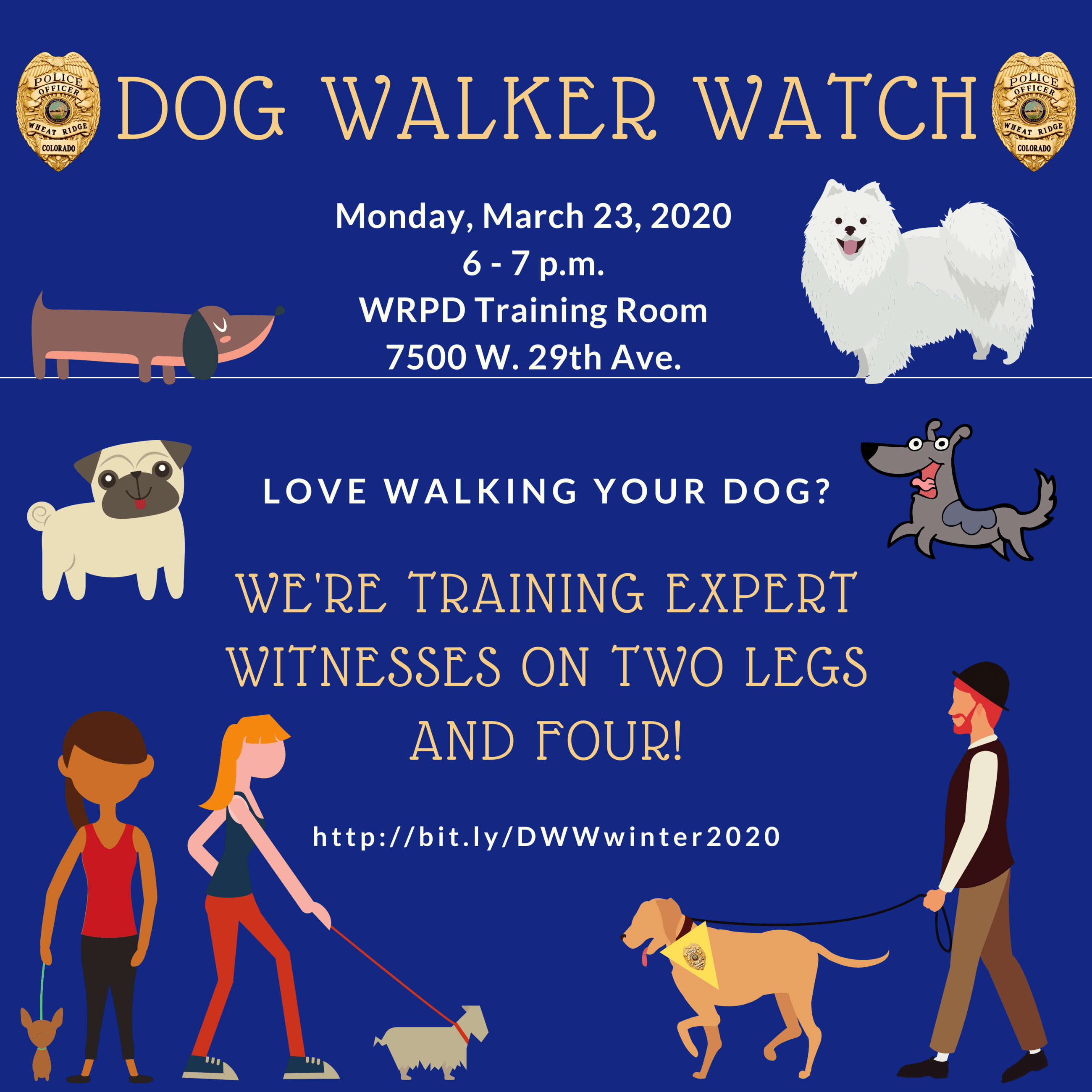 Dog Walker Watch 2020 flyer