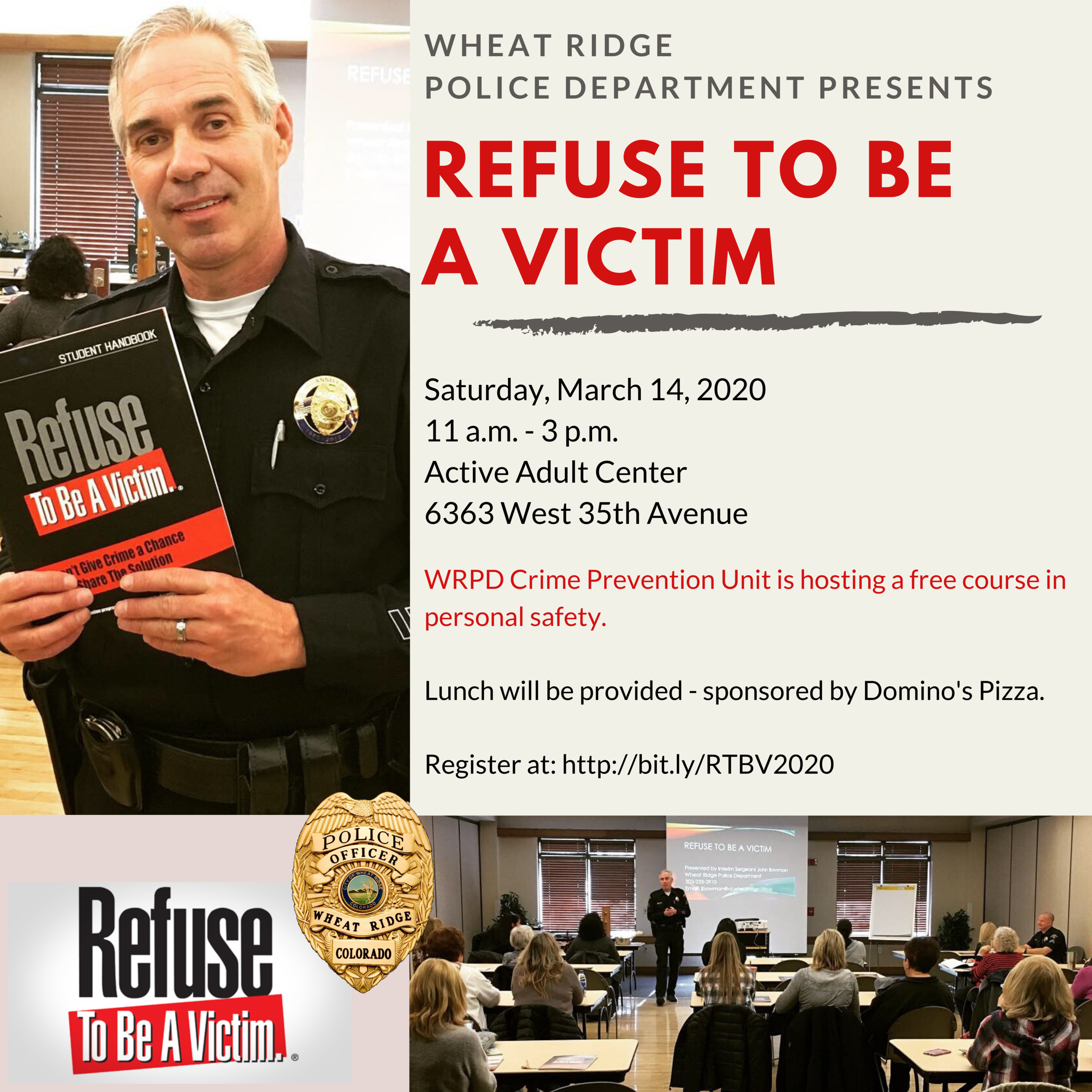 Refuse to be a Victim March 2020