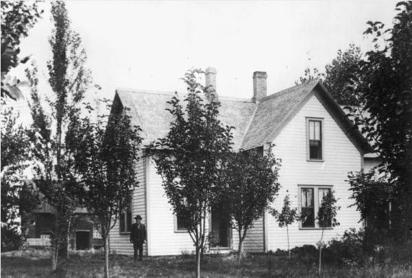 Abram Slater Home, W 38th, 1888