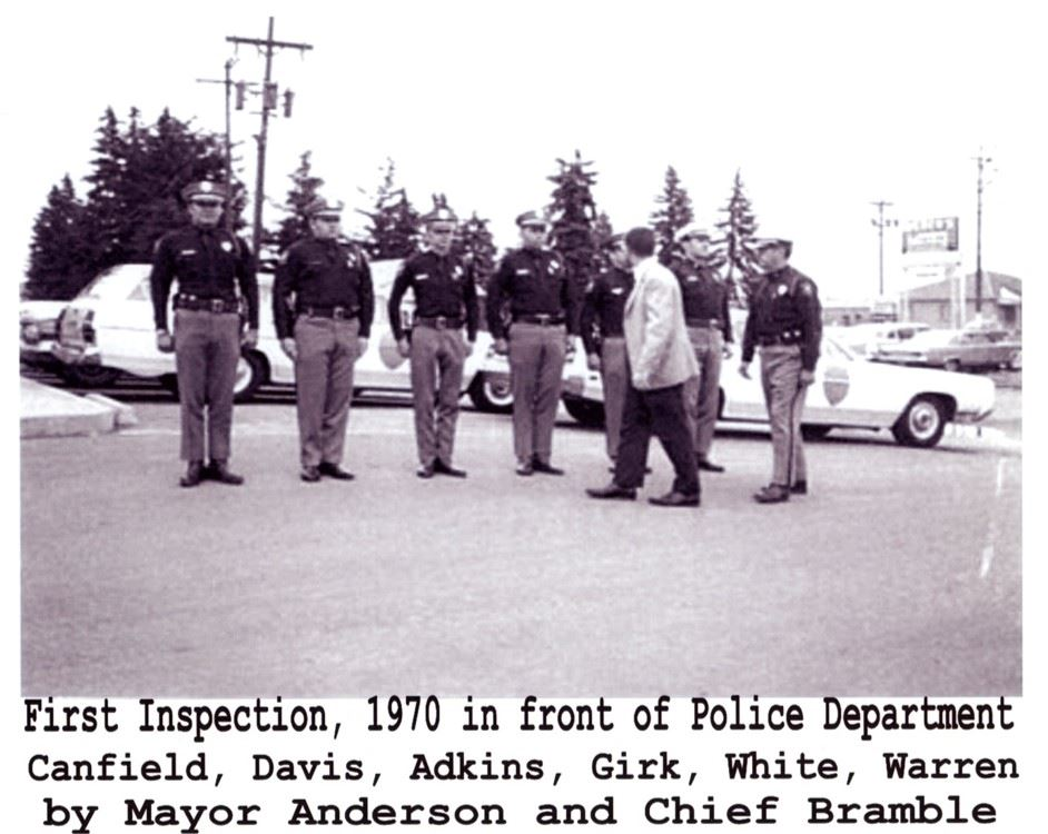 WRPD Inspection 1970