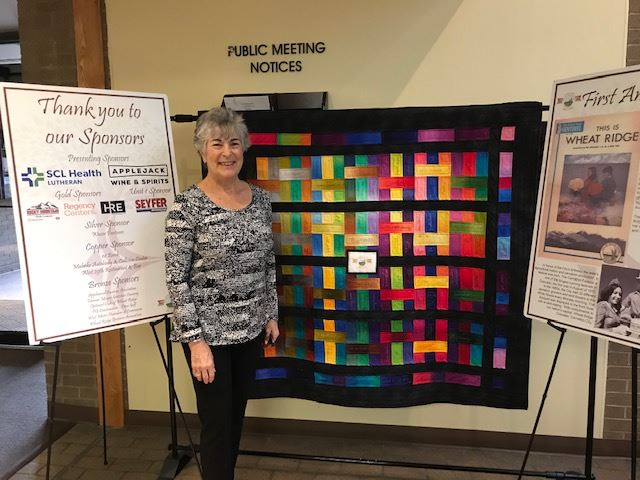 Milly Nadler, signature quilt