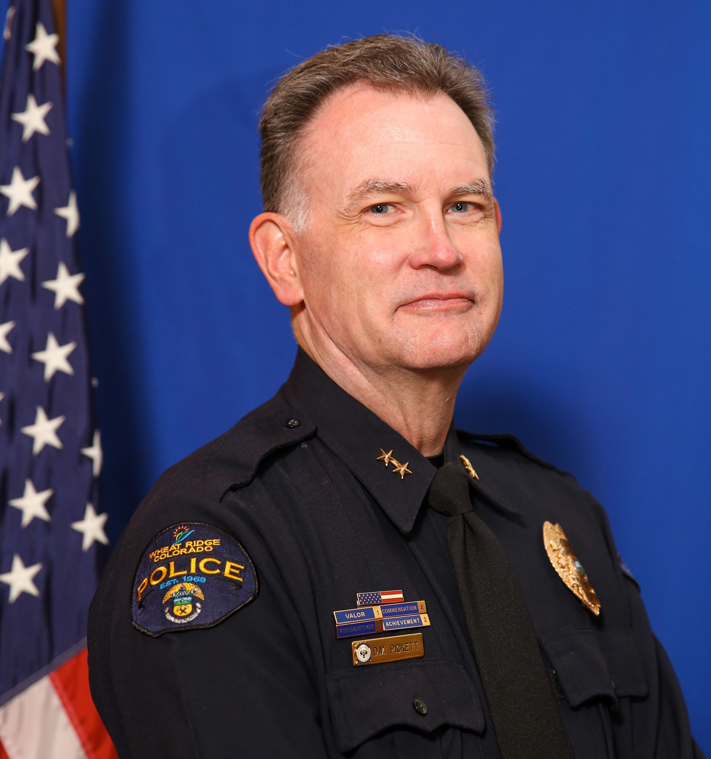 Photo of Chief Pickett for page