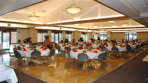 Holiday Luncheon in the Ballroom